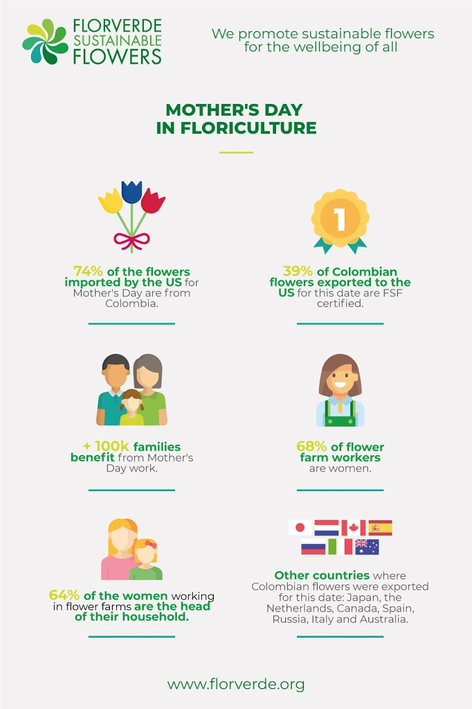 INFOGRAPHIC | Mother's day in Floriculture
